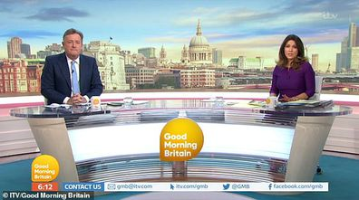 Susanna Reid, Piers Morgan, Good Morning Britain