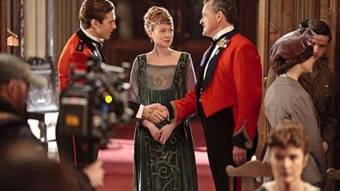 Downton Abbey creator at work on third season
