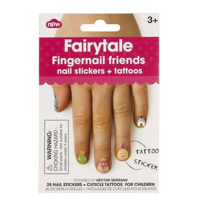"<a href=""http://www.seedheritage.com/p/fairytale-fingernail-friends/1053037-301-00-se.html#q=art&amp;start=1"" target=""_blank"">Fairytale Fingernail Friends, $9.95 (pack of 25).</a>"