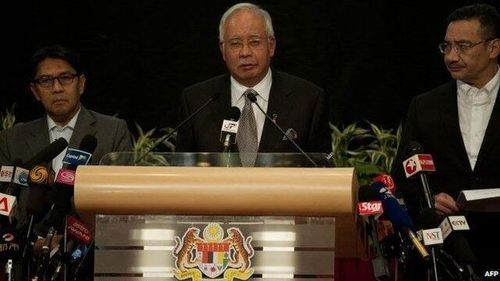 'I must inform you ... MH370 ended': Malaysian PM