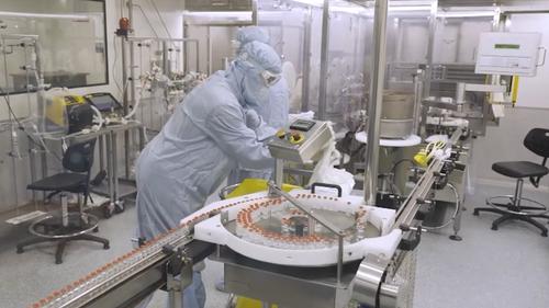 Needle-free covid vaccine trial