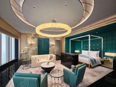 J Hotel Shanghai Towers: Shanghai Suite Bedroom