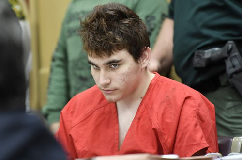 Cruz is accused of the shooting massacre that killed 17 people at Marjory Stoneman Douglas High School in February. Picture; AAP