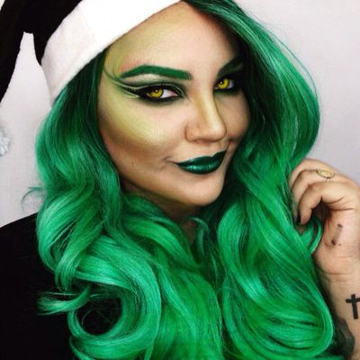 Mermaid makeup, marble lips and dragon-shaped eyebrows may have reigned supreme as the wackiest Insta beauty trends of the year – until now.<br /> <br /> Beauty risk-takers have been scratching their festive itch with makeup inspired by Christmas's biggest grouch, The Grinch. <br /> <br /> Instagram and Twitter users have been using bright red lipstick, green face paint, lime nail polish, stickers and more to bring Dr. Seuss's creation to life.<br /> <br /> While some are embracing the trend with subtle nods on their nails or eye-shadow, others are going for a total transformation, changing their entire faces into the green grouch.<br /> <br /> From themed nail art to green liner and matching hair we've rounded up the best Grinch-inspired beauty looks to allow your heart and style to grow three sizes.<br /> <br /> Click through to see the best Grinchy makeup looks to inspire your Christmas beauty.