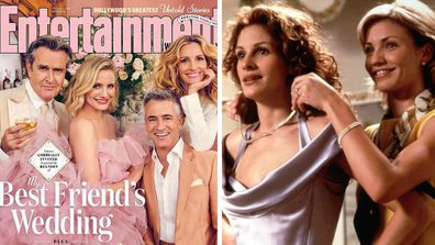 Julia Roberts, Dermot Mulroney, Cameron Diaz and Rupert Everett