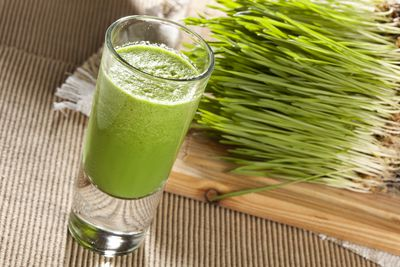 <strong>Wheatgrass juice</strong>