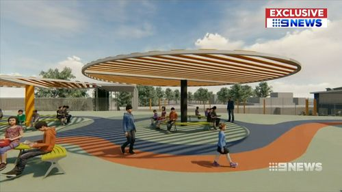 An artist's impression of the new school design. Picture: Supplied
