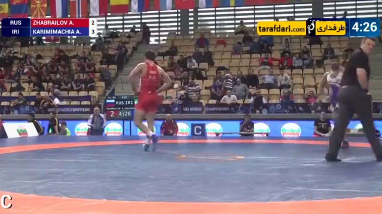 Iranian wrestler ordered to lose match