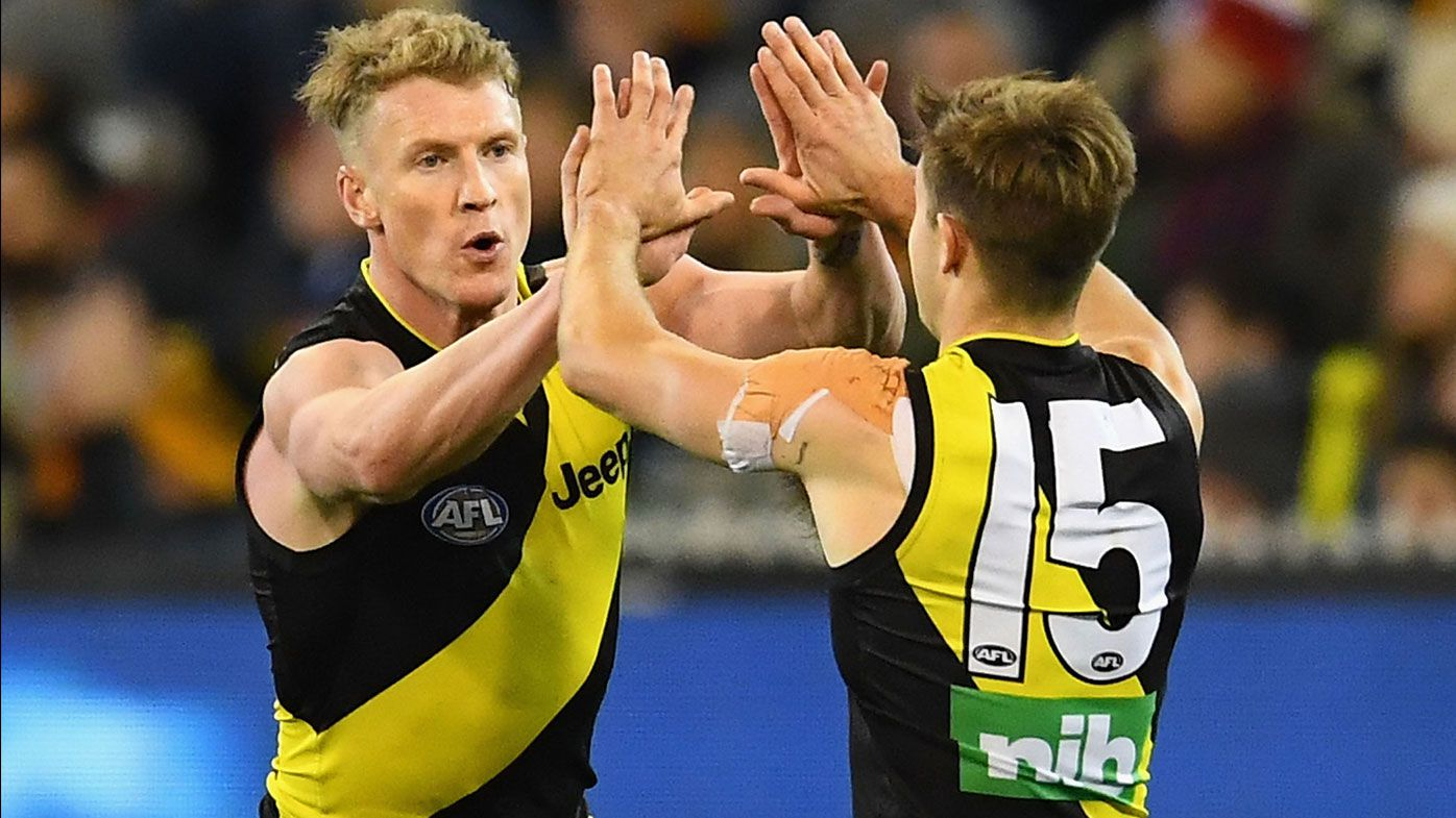 Tigers premiership duo sign new AFL deals