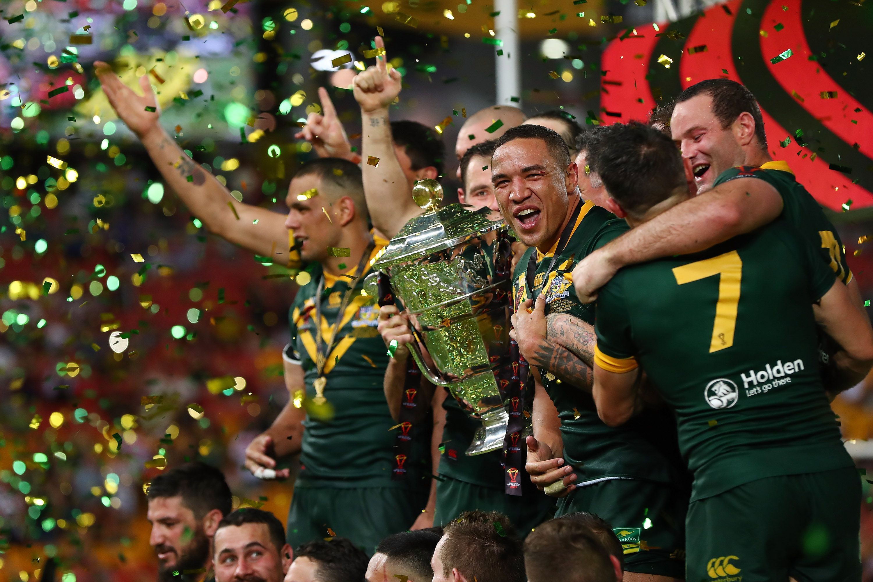 Former England international Barrie McDermott 'sick of' NRL stance on Rugby League World Cup