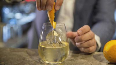 <strong>Easy Chic with Chandon S -Celebrate easy French style with a glass of perfect Chandon S bubbles:</strong>
