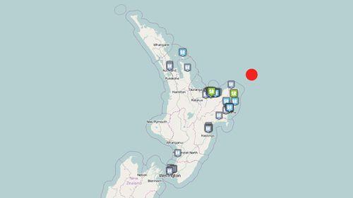 Magnitude 5.7 earthquake strikes off New Zealand's east coast