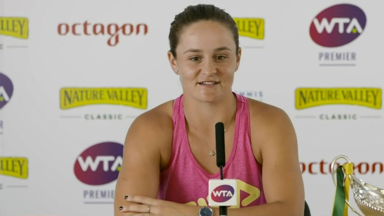 New world no.1 Ash Barty suffers worrying injury scare ahead of Wimbledon