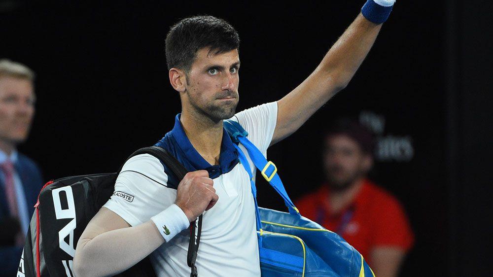 Novak Djokovic set for scans after Australian Open exit
