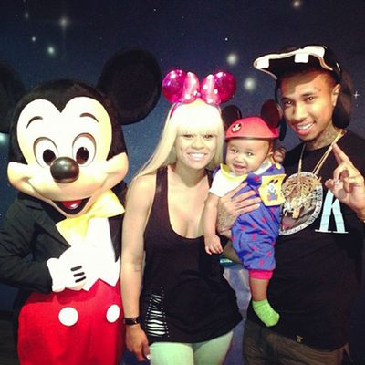 Blac Chyna and Tyga's son: King Cairo Stevenson