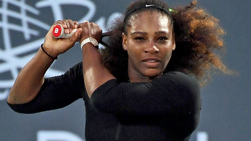 Serena Williams shows promise in return to tennis in Abu Dhabi loss to Jelena Ostapenko