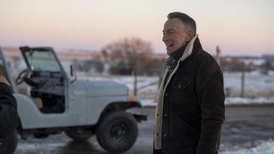 Bruce Springsteen films Jeep Super Bowl ad