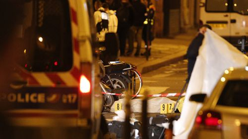 A knife-wielding assailant in the French capital of Paris killed one person and injured four in an Islamic State-linked terror attack. (Picture: AAP)
