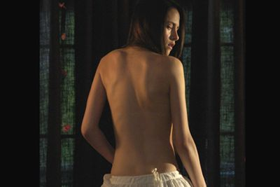 Kristen went nude in 2007's <i>The Cake Eaters</i>...and there's apparently a few bits on show with R-Pattz in the upcoming <i>Twilight — Breaking Dawn</i> movies.