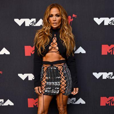 Jennifer Lopez's highly-strung outfit