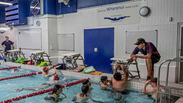 Swimming sessions at Wharenui pool range from those for babies of six months through to masters swimmers, many of whom are former competitive swimmers.