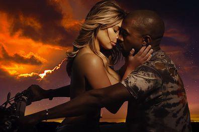 Kim Kardashian, Kanye West, relationship timeline, Bound 2, music video