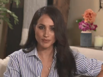 Meghan Markle the Duchess of Sussex commented about her recent controversial remarks about the US presidential election.