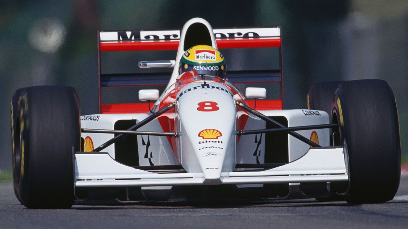 Ayrton Senna's 1993 McLaren-Ford sells for $6.6m