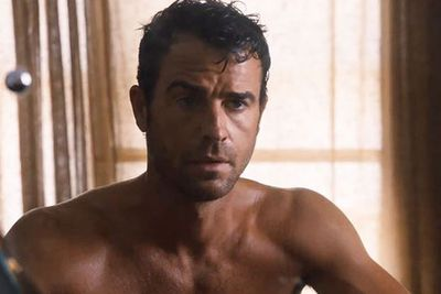 NOW: Still shirtless just ten times more buff!<br/><br/>Since his sex strife in <i>SATC</i>, Justin Theroux's starred in <I>Mulholland Drive</I>, <I>Tropic Thunder</I> and HBO series <I>The Leftovers</I>. <br/><br/>Are we missing something?