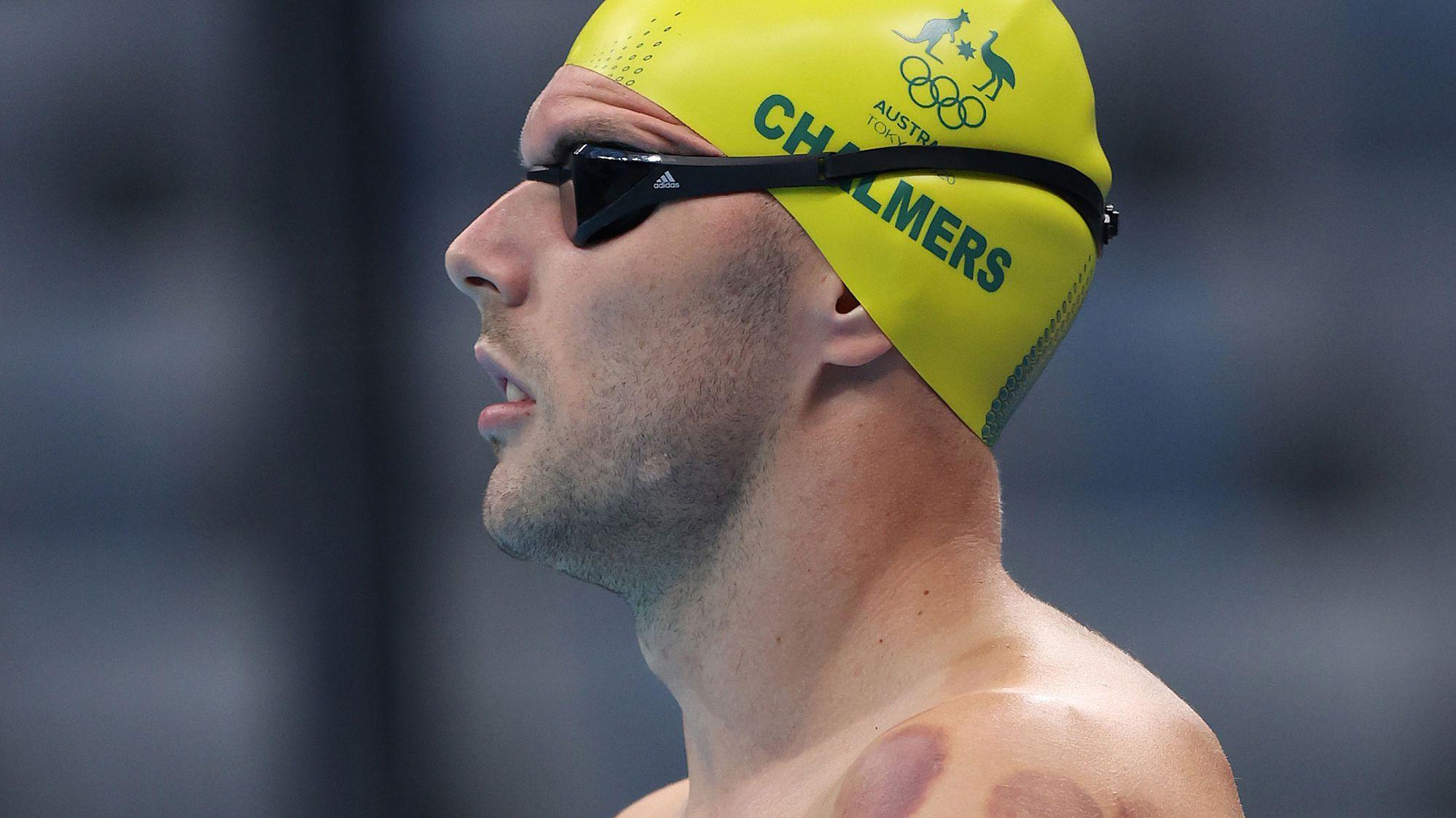Australian freestyle star Kyle Chalmers.