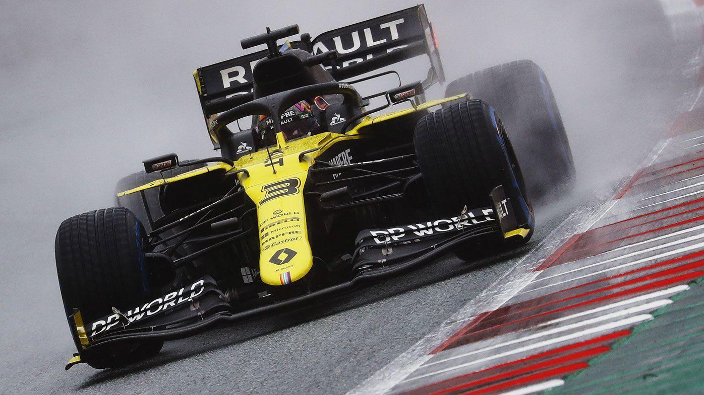 F1 Styrian Grand Prix qualifying: Lewis Hamilton takes pole, Daniel Ricciardo ninth