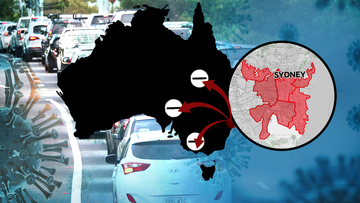 Victoria declares Greater Sydney and Wollongong red zones