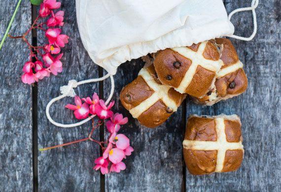 The Grounds hot cross buns