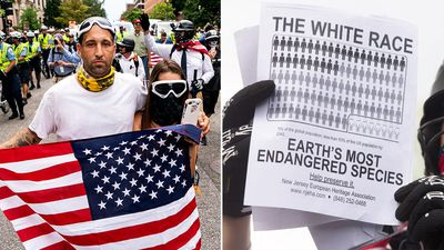 'Endangered' white supremacists march on White House