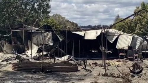 WA bushfires.