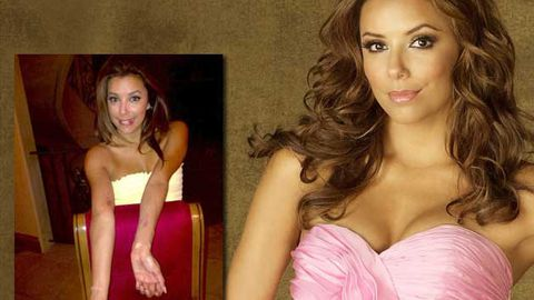 Eva Longoria shows off Desperate Housewives pole-dancing injury