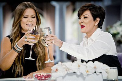 In a boozy game of Never-Have-I-Ever on her talk show, Kris Jenner admitted to her audience, including 16-year-old daughter Kylie, that she joined the mile high club. Awkward!<br/><br/>(Image: Kris/20th Television)