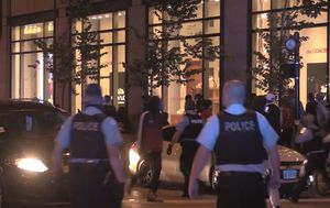 Chicago chaos: More than 100 arrested, 13 officers injured as crowds storm upscale shopping district