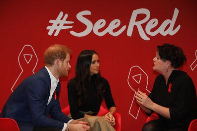 Prince Harry follows Princess Diana's footsteps in supporting HIV/AIDs patients