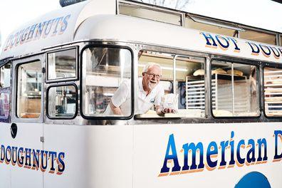 American Doughnut Kitchen van