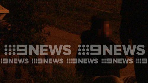 Five men were arrested after vehicle stops.