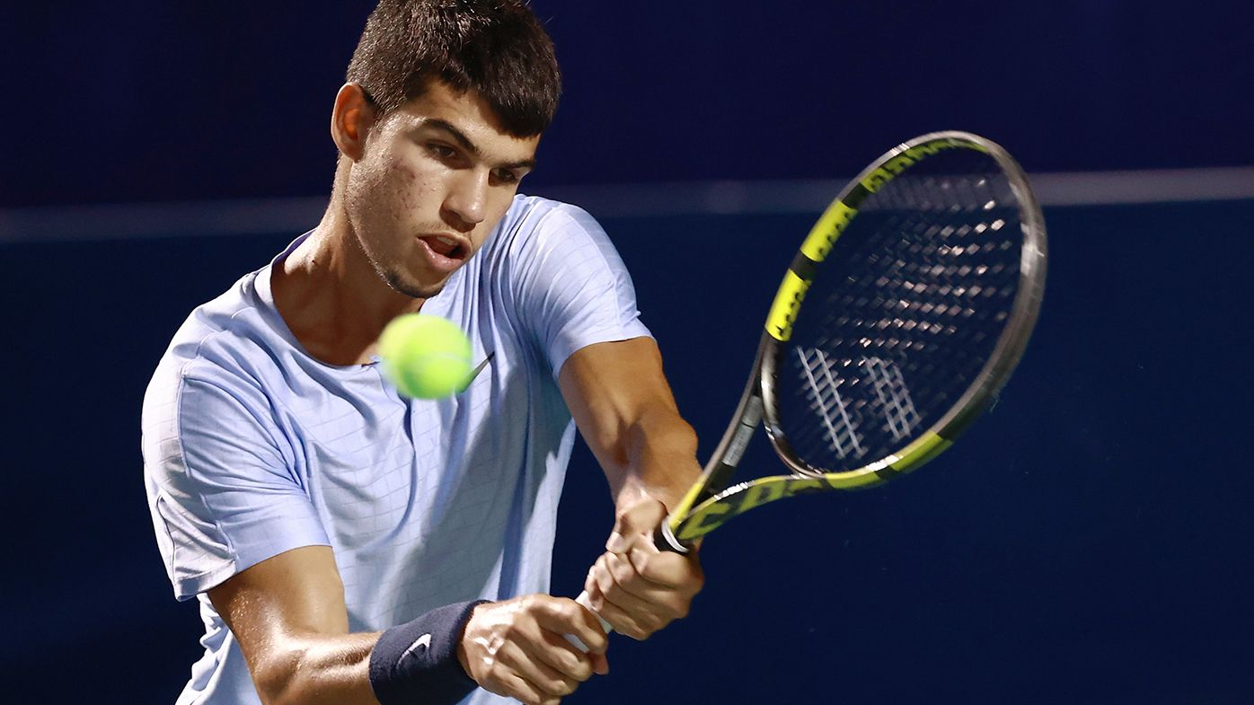 Carlos Alcaraz is on the verge of breaking into the top 50 in the world rankings at the age of 18.