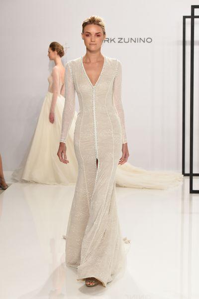 Mark Zunino for Kleinfeld, New York Bridal Fashion Week