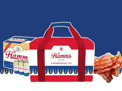 Hamm's Beer are running a New Year's resolution competition.