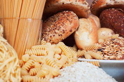Swap white pasta, rice and bread (77 calories/slice of bread)…