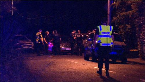The man was treated by paramedics but died a short time later. (9NEWS)
