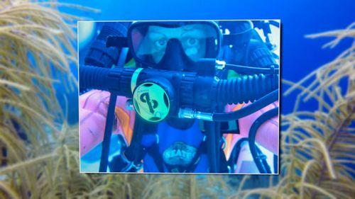 Dr Fiona Sharp diving 2