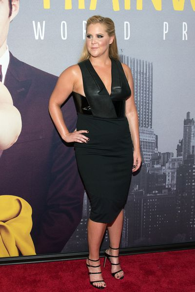 Amy Schumer in Dion Lee at the New York premier of <em>Trainwreck</em>, 2015. Image: Getty