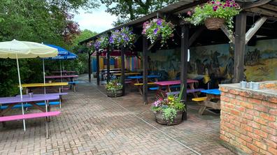 The Compass pub garden
