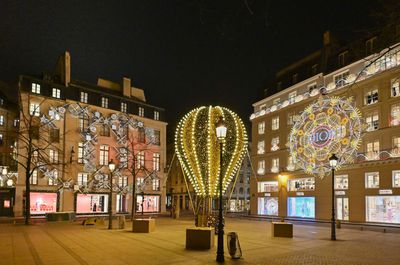 The Chanel Boutique's Christmas display in Paris